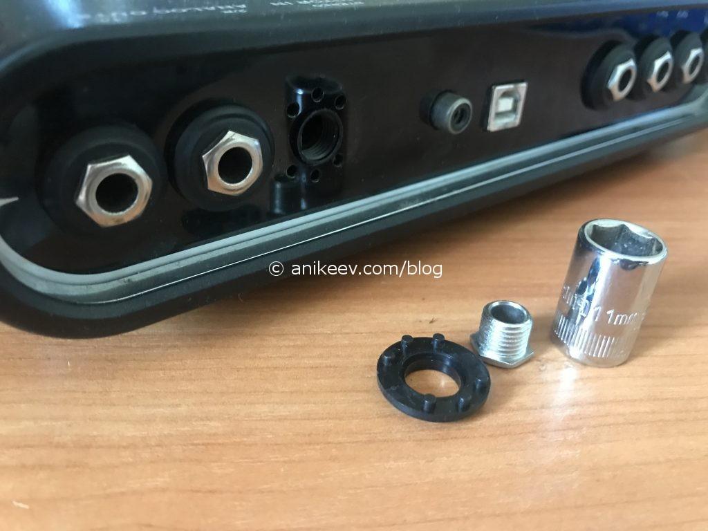 line6 Pod studio UX2 disassembly