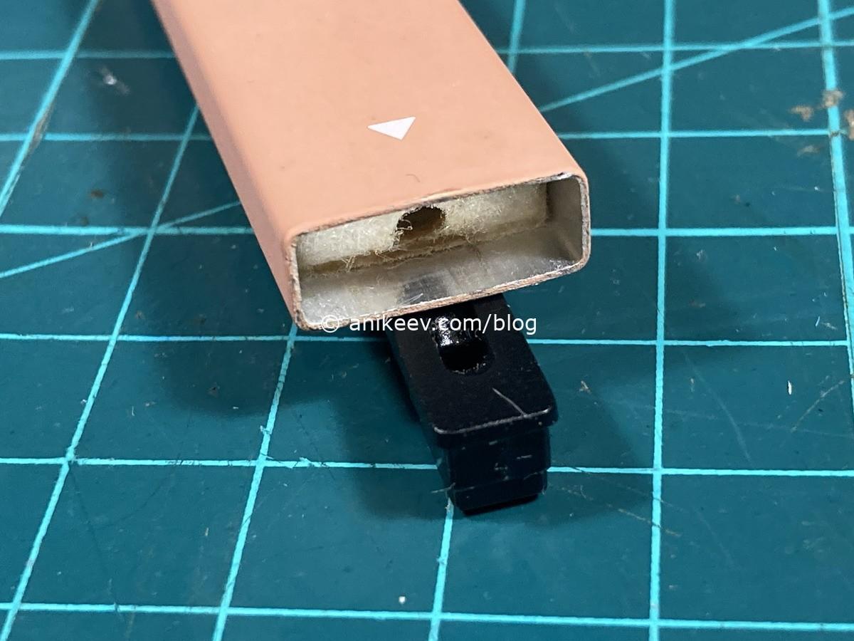 Перезаправка одноразовой электронной сигареты куплю сигареты оптом в спб
