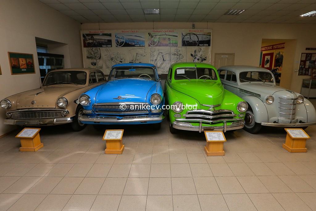 Музей автомотостарины; Фото: Антон Балашов