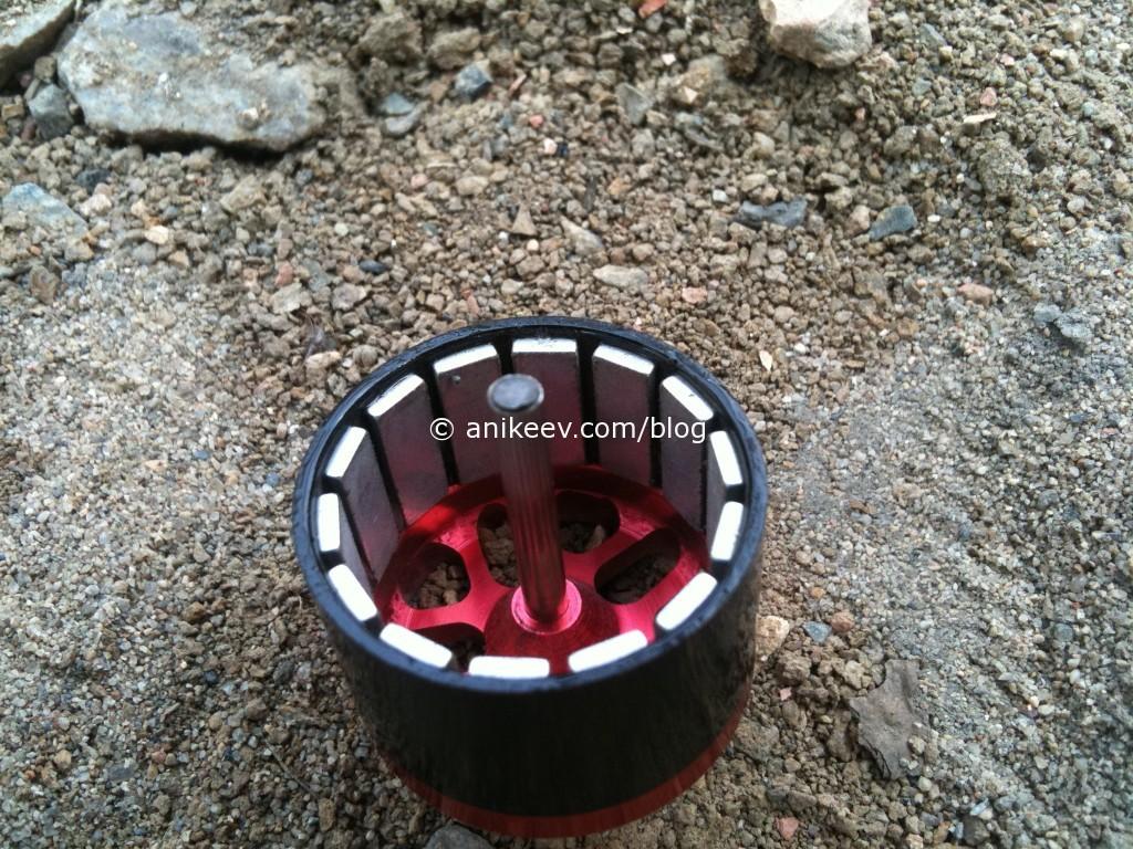 repair shaft rc motor turnigy broken shaft