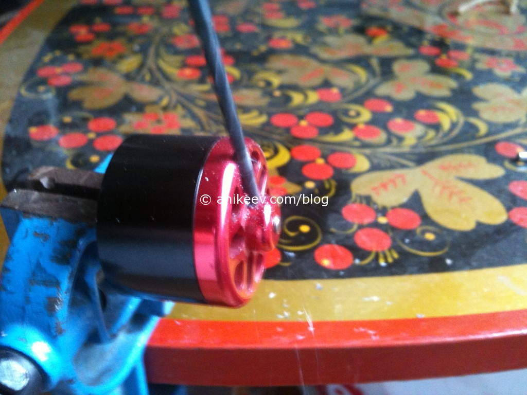repair shaft rc motor turnigy drill screw
