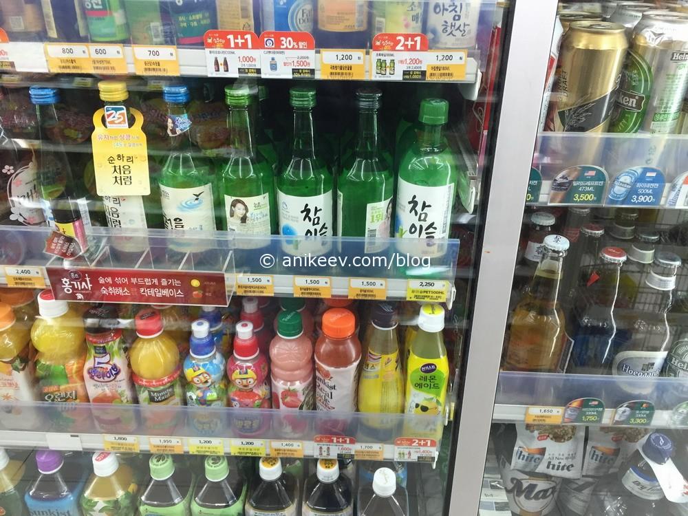 корейские напитки и соджу